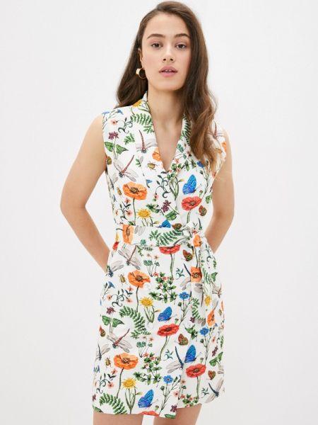 Платье с запахом весеннее Fashion.love.story