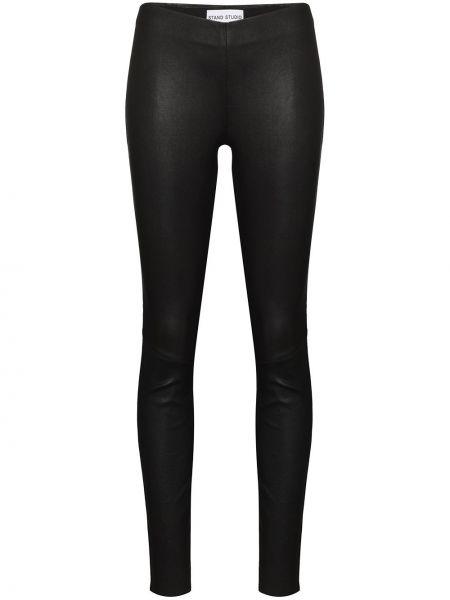 Bawełna bawełna czarny legginsy Stand Studio