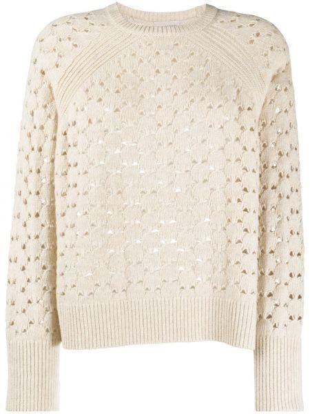 Шерстяной вязаный свитер By Malene Birger