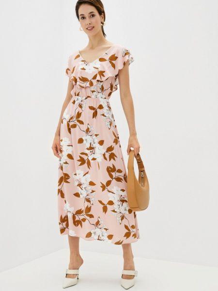 Прямое розовое платье Defacto