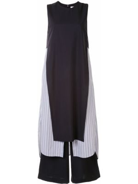 Sukienka wełniana w pasy Enfold