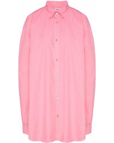 Блузка с коротким рукавом оверсайз классическая Balenciaga