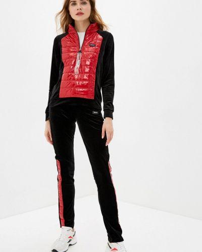 Костюмный красный спортивный костюм Joymiss