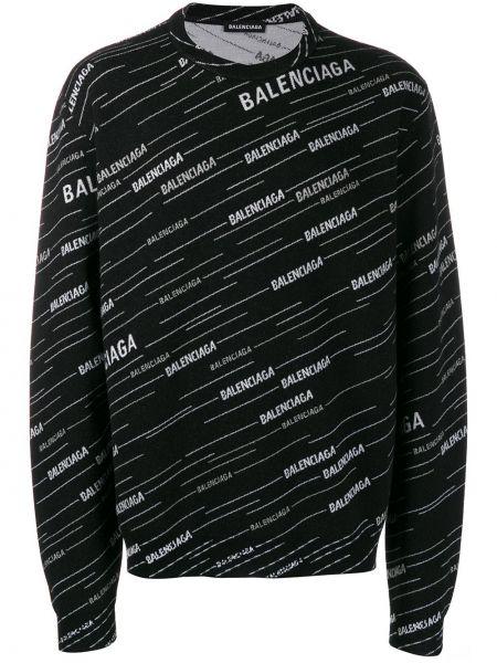 Bluza na szyi długo Balenciaga