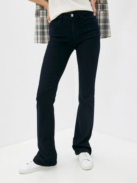 Синие расклешенные джинсы свободного кроя Max&co