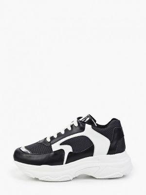 Черные итальянские кроссовки Lamania