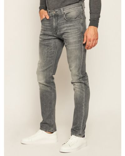 Szare mom jeans Baldessarini