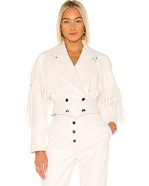 Кожаная куртка на пуговицах с подкладкой Divine Heritage