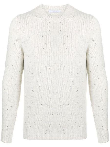 С рукавами шерстяной белый свитер Cenere Gb