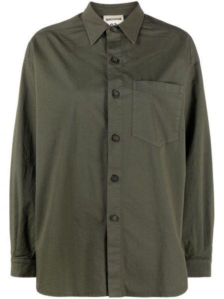 Klasyczna koszula - zielona Semicouture