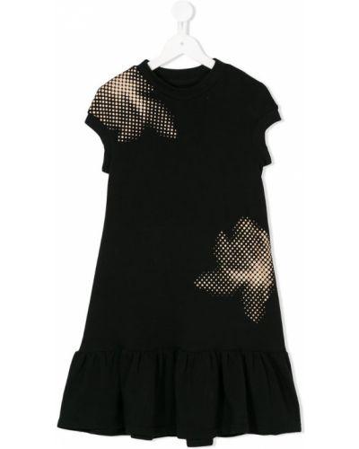 Черное платье Ioana Ciolacu Kids