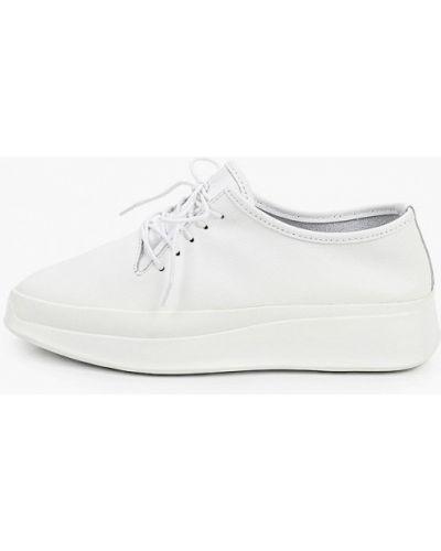 Кожаные белые ботинки Der Spur