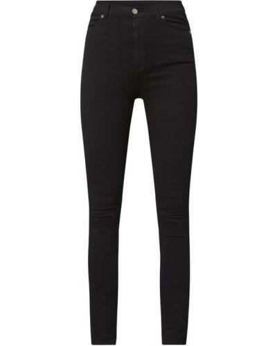 Mom jeans bawełniane - czarne Dr. Denim