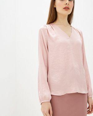 Блузка с длинным рукавом розовая Banana Republic