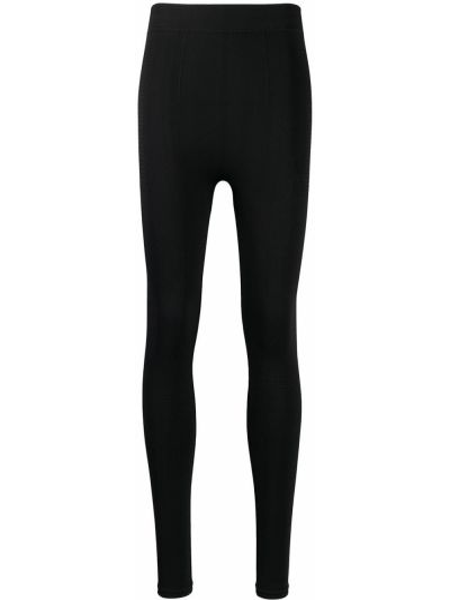 Czarne legginsy na co dzień Rick Owens