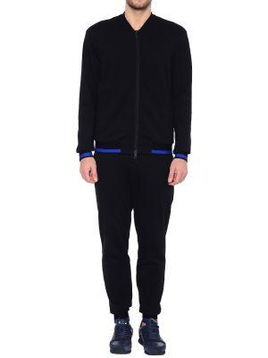 Черный спортивный костюм Armani Jeans