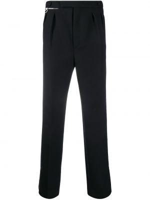 Niebieskie spodnie bawełniane Raf Simons