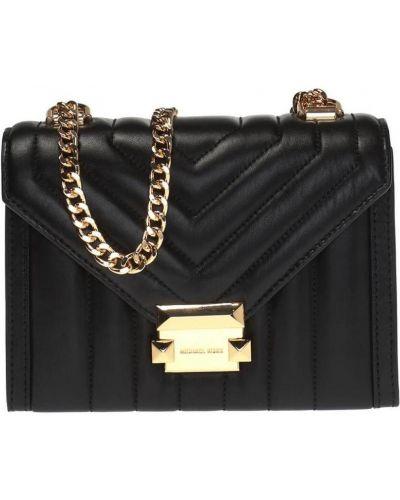 Złota torebka na łańcuszku - czarna Michael Kors