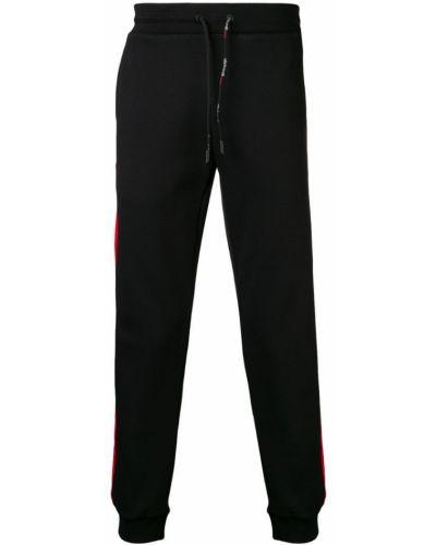 Черные спортивные брюки с карманами Roberto Cavalli