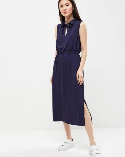 Синее платье Sela