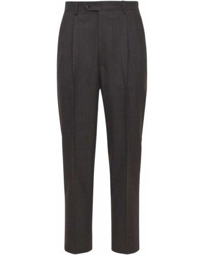 Brązowe spodnie wełniane Lc23
