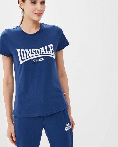 Поло синий Lonsdale