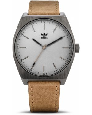 Brązowy sport zegarek Adidas