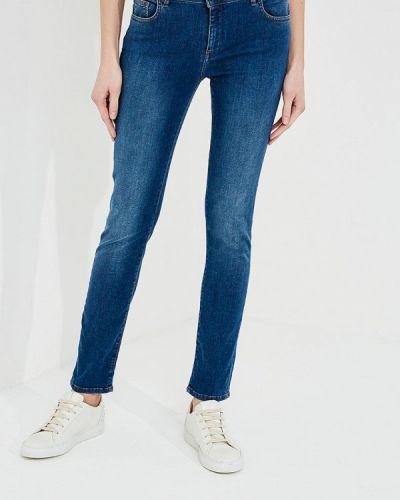 Синие джинсы-скинни Trussardi Jeans