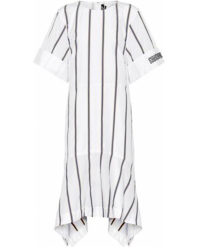 Платье миди в полоску из поплина Calvin Klein 205w39nyc