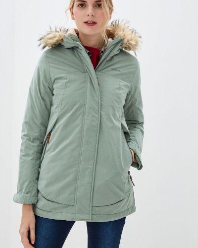 Утепленная куртка осенняя зеленая Merrell