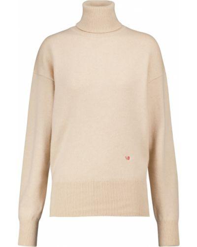Белый кашемировый свитер Victoria Beckham