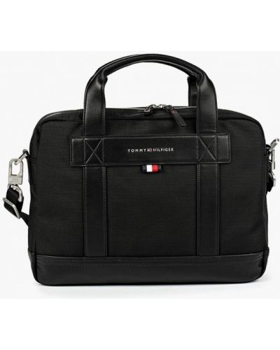 Кожаная сумка текстильная Tommy Hilfiger