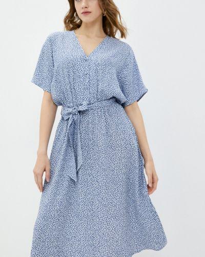 Голубое платье а-силуэта Selected Femme