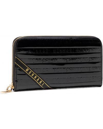 Czarny portfel Monnari