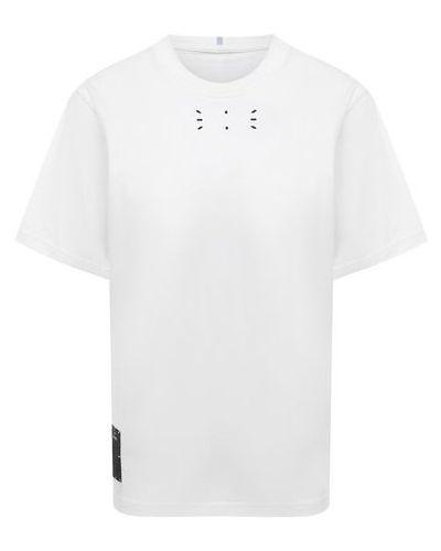Хлопковая футболка - белая Mcq