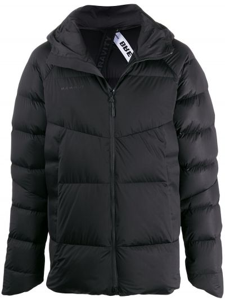 Черная куртка с капюшоном Mammut Delta X