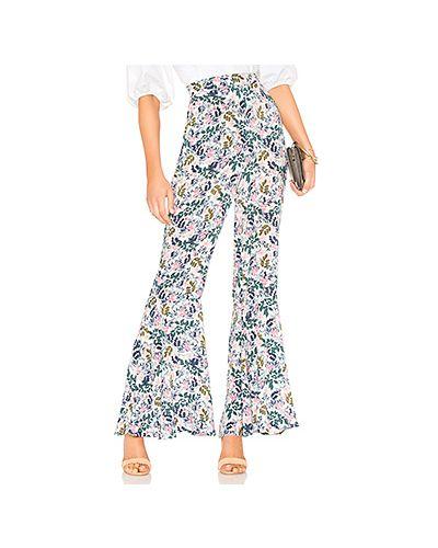 Укороченные брюки с карманами белые Bcbgeneration