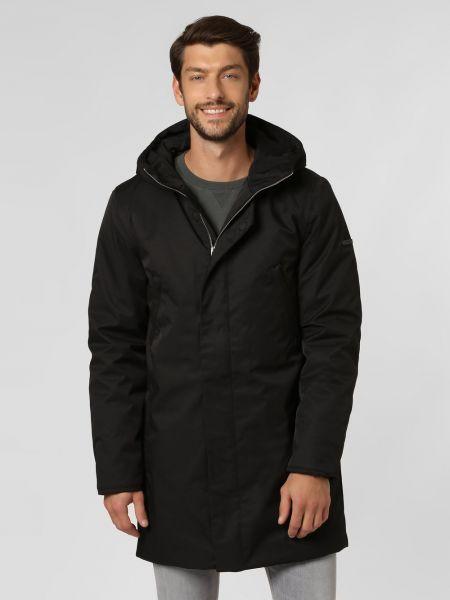 Czarny płaszcz Elvine