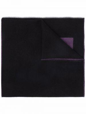 Szalik z jedwabiu - czarny Givenchy