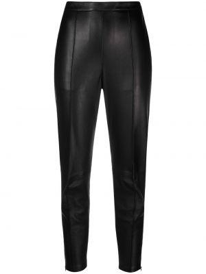 Черные зауженные укороченные брюки Isabel Marant