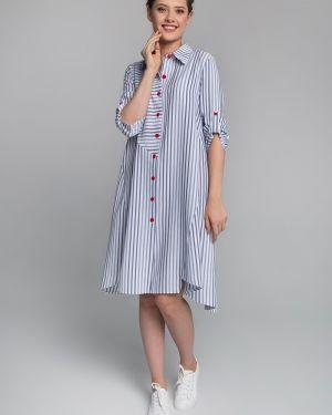 Платье со вставками платье-сарафан Sezoni