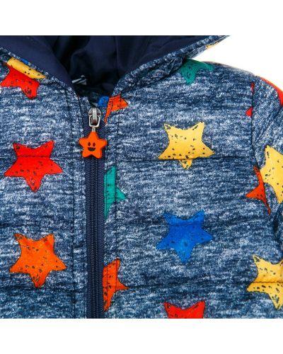 Со звездами серая куртка Blukids