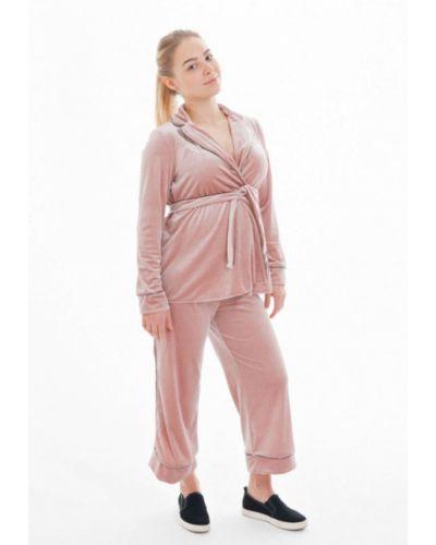 Розовый брючный костюм Week By Week