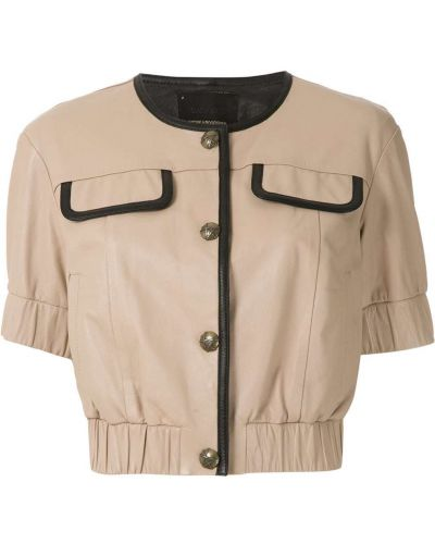 Блузка на пуговицах Andrea Bogosian