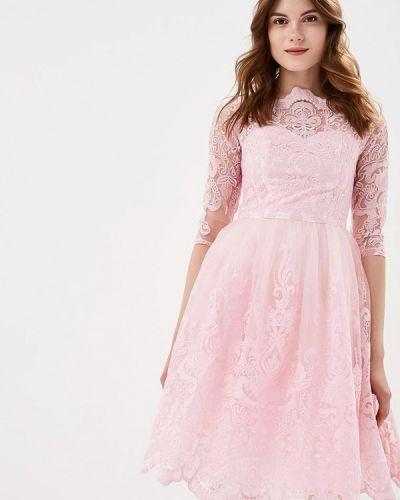 Вечернее платье осеннее 2019 Chi Chi London