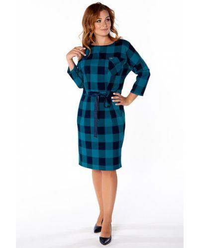Платье с поясом платье-сарафан из вискозы Virgi Style