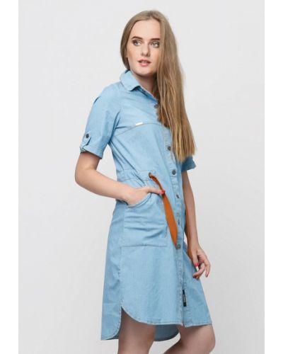 Джинсовое платье осеннее Dasti