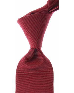 Krawat srebrny - czerwony Barba Napoli