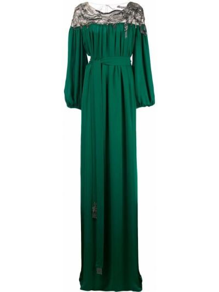 Кафтан - зеленый Marchesa