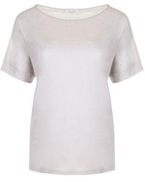 Футбольная базовая серая футболка из вискозы Gran Sasso